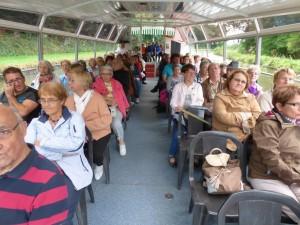 promenade en bateau sur le canal